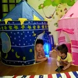 Lều bóng lâu đài cho hoàng tử và công chúa