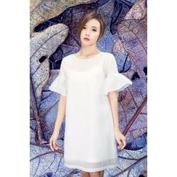 Đầm Suông Tay Loe Dễ Thương Như Midu X3375T