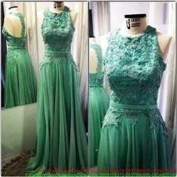 Đầm dạ hội ren hoa cao cấp phối voan rũ thướt tha xinh đẹp sDMX124