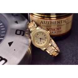 đồng hồ thời trang đính hạt 419