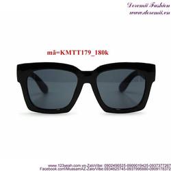 Kính mát thời trang gọng vuông phong cách sành điệu KMTT179