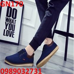 Giày lười mọi nam phong cách Hàn Quốc - GN170