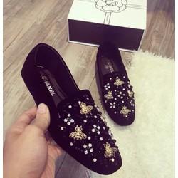 Giày slipon đính đá - G01128