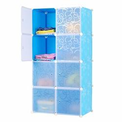 Tủ lắp ráp 8 ngăn cao cấp tự thiết kế Dhome 8104