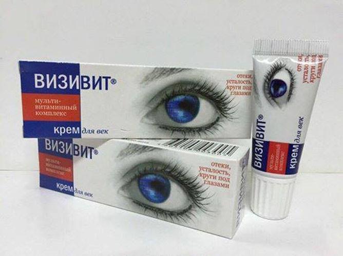 Kem Đặc Trị Thâm Quầng Làm Tan Bọng Mắt Nga 4