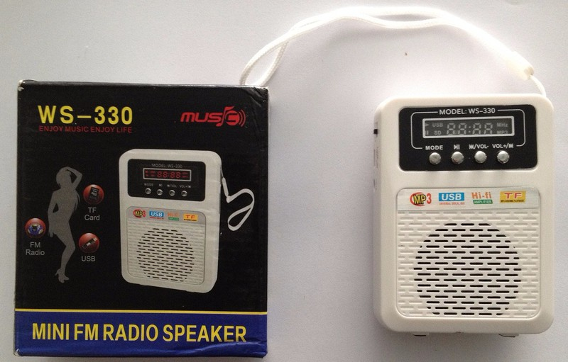 Loa Nghe Nhạc FM WS-330 2
