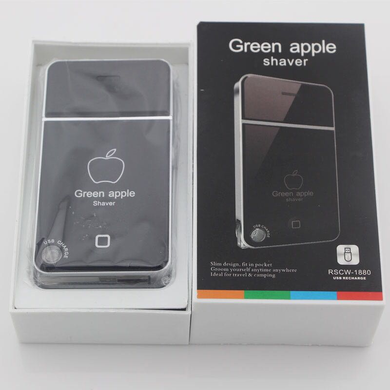 MÁY CẠO RÂU IPHONE GREEN APPLE 4