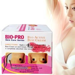 Kem nở ngực BioPro  Cho núi đôi căng tròn quyến rũ