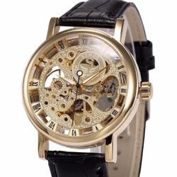 Đồng hồ CƠ dây da chạy TỰ ĐỘNG