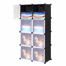 Tủ lắp ráp 8 ngăn cao cấp tự thiết kế Dhome 8103