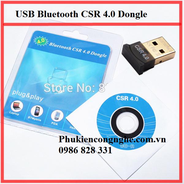 USB Bluetooth CSR 4.0 Dongle cho Máy tính 2