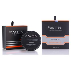 Bộ Dưỡng Trắng Da Toàn Thân The MEN Body Lotion Và Sữa Tắm Detox Body