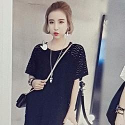 Đầm nữ thiết kế dáng rộng trẻ trung, phong cách sành điệu.