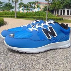giày thể thao xanh chữ n đen