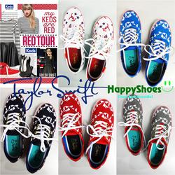 Giày Keds Taylor Swift xuất khẩu Châu Âu