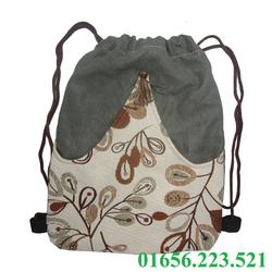 Balo vải bố hàng chất lượng cao - MS06