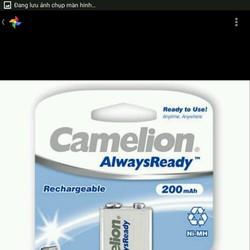 Pin sạc 9V Camelion