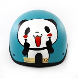 Mũ bảo hiểm Gấu trúc Panda