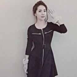 Đầm thun nữ kiểu dáng cá tính, phong cách sành điệu.