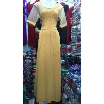 Đầm dạ hội đính đá sang trọng HA2310