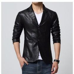 Áo khoác vest da nam - LV1322 - K96