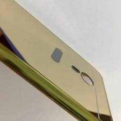 Meizu M3 note - Ốp lưng điện thoại tráng gương viền kim loại cứng