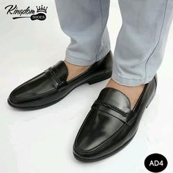 Giày lười thời trang chất lượng cao da bò thật