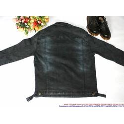 Áo khoác jean nam phong cách bụi bặm mạnh mẽ