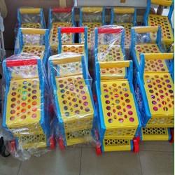 xe đẩy siêu thị đồ chơi cho bé