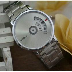 đồng hồ womei day thep kiểu dáng thời trang hiện đại