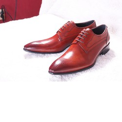 Giày nam thời trang cao cấp Hand made MARCO PAOLANP - PL01