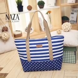 Túi xách xọc xanh thời trang cá tính NA00293