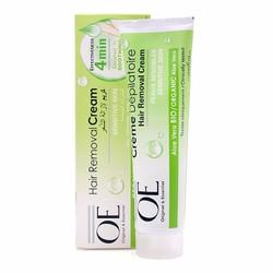 Kem tẩy lông OE Hair Remove Cream ORGANIC Aloe Vera - Cho da nhạy cảm