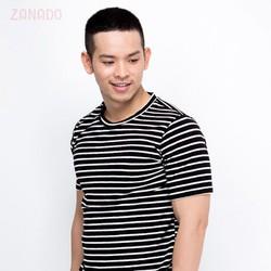 Áo sọc đen trắng nam cá tính