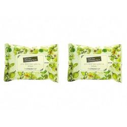 Bộ 2 gói Khăn giấy TFS Herb Day Cleansing Tissue 20 sheets