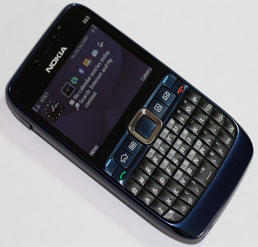 Nokia E63 5