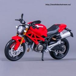 Mô hình xe mô tô DUCATI MONSTER 696- 2011 tỷ lệ 1:12