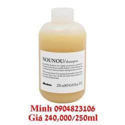 Dầu gội dành cho tóc khô và hư tổn NOUNOU 250ml