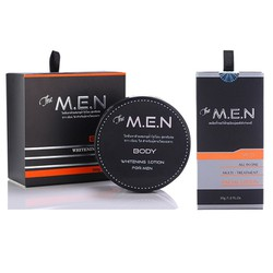 Bộ Dưỡng Trắng Da Toàn Thân The MEN Body Lotion Và Facial Lotion