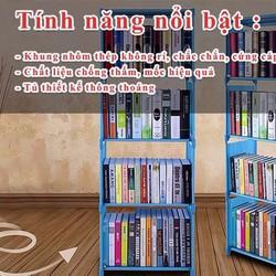 Tủ sách 4 tầng đa năng