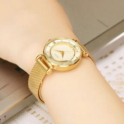 Đồng hồ nữ vàng khuyên dây mịn JU964 - Thương Hiệu