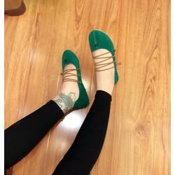 giày búp be cột dây hang nhập -pl6699