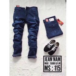 quần jean Nam rách nhẹ - 670002