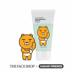Kem tẩy lông THE FACE SHOP In Shower Hair Removal Cream Kakao Friends