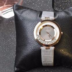 Đồng hồ nữ dây da mỏng cực đẹp