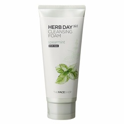 Sữa rửa mặt TFS Herb Day 365 Cleansing Foam Spearmint For Man 170ml