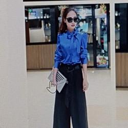 Bộ áo quần nữ kiểu dáng hiện đại, phong cách sành điệu.
