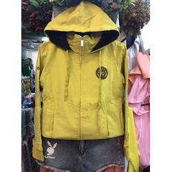 Áo khoác nhung kaki thêu Vecsac có túi bên trong form đủ màu cực xinh