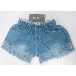 Quần shorts Jeans dễ thương giành cho bé gái