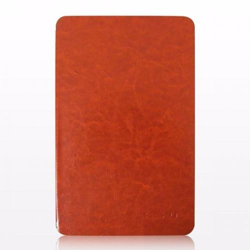 Bao da Galaxy Tab E 9.6 T561 hiệu Kaku da bóng màu nâu